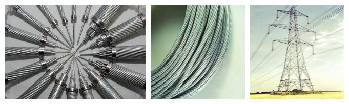 acsr mink conductor material and application