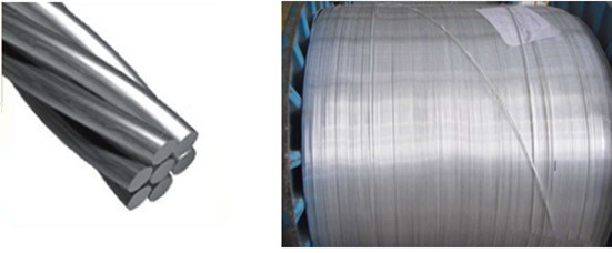 aluminium clad steel wire application