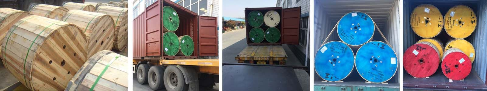 48 core optical fiber cable delivery