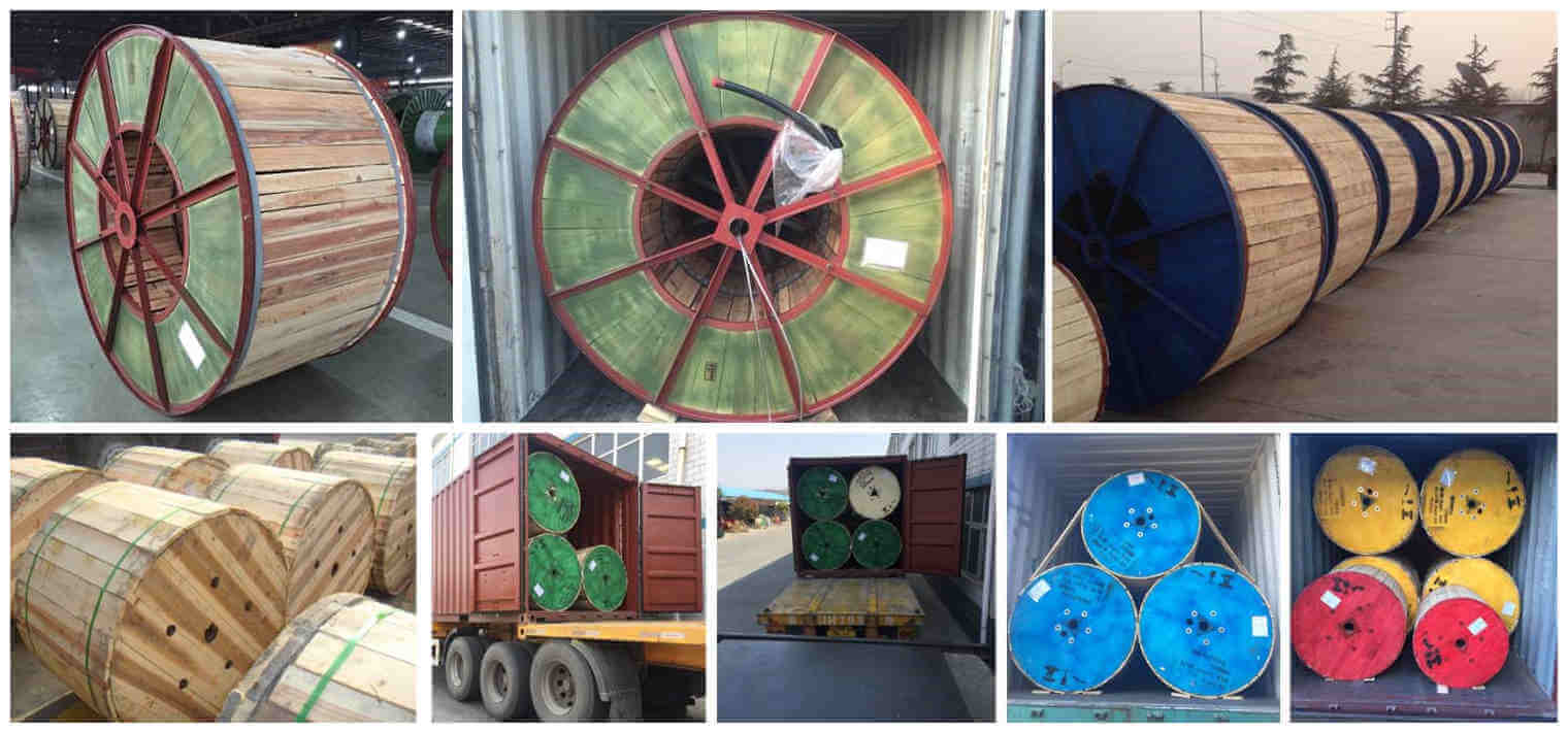 11kv xlpe cable delivery picture