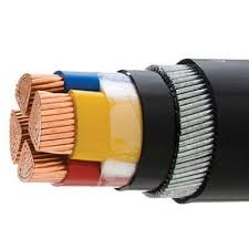 185mm 4 core cu xlpe swa pvc cable