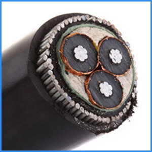3 core 185mm armoured cable