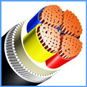 4 core 185mm armoured cable