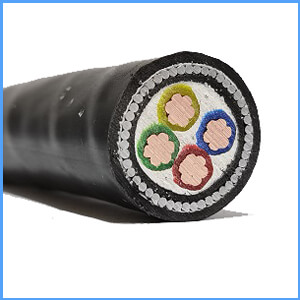 4 core 35mm armoured cable